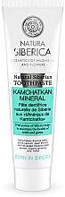 Düfte, Parfümerie und Kosmetik Fluoridfreie natürliche Zahnpasta mit kamchatkanischen Minerale - Natura Siberica