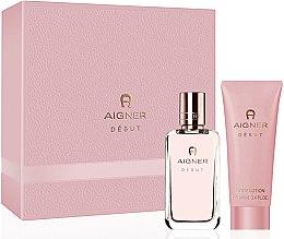 Düfte, Parfümerie und Kosmetik Aigner Debut - Set(edp/50ml + b/lot/100ml)