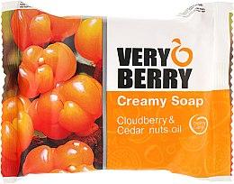 Düfte, Parfümerie und Kosmetik Cremeseife mit Moltebeere und Zedernnussöl - Very Berry Cloudberry & Cedar Nuts Oil