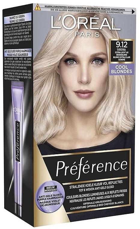 Haarfarbe - L'Oreal Paris Preference Cool Blondes