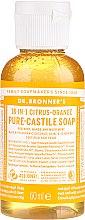 18in1 Flüssige Hand- und Körperseife mit Zitrus-Orange - Dr. Bronner's 18-in-1 Pure Castile Soap Citrus & Orange — Bild N1