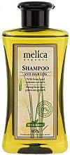 Düfte, Parfümerie und Kosmetik Shampoo mit Roggen- und Calamus-Extrakt gegen Haarausfall - Melica Organic Anti-hair Loss Shampoo