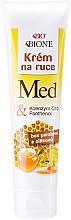 Düfte, Parfümerie und Kosmetik Handcreme - Bione Cosmetics Honey + Q10 Cream