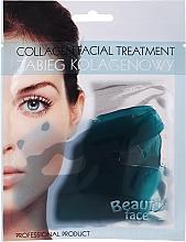 Düfte, Parfümerie und Kosmetik Kollagen-Therapie für das Gesicht mit marinen Spurenelementen - Beauty Face Collagen Hydrogel Mask