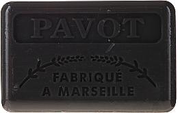 Düfte, Parfümerie und Kosmetik Marseiller Seife mit Sheabutter - Foufour Savonnette Marseillaise Pavot