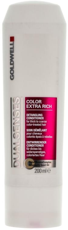 Haarspülung für coloriertes Haar - Goldwell DualSenses Color Extra Rich Conditioner — Bild N1