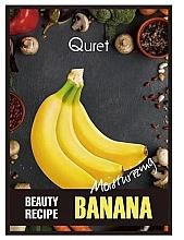 Düfte, Parfümerie und Kosmetik Feuchtigkeitsspendende Gesichtsmaske mit Banane - Quret Beauty Recipe Mask Banana Moisturizing