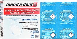 Düfte, Parfümerie und Kosmetik Prothesenreinigungstabletten - Blend-A-Dent