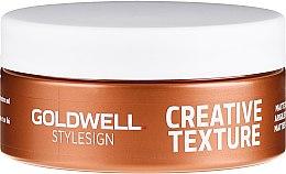 Düfte, Parfümerie und Kosmetik Haarstylingpaste mit mattem Finish - Goldwell StyleSign Creative Texture Matte Rebel