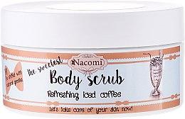 Düfte, Parfümerie und Kosmetik Zucker-Körperpeeling mit erfrischendem Eiskaffee - Nacomi Body Scrub Refreshing Iced Coffee