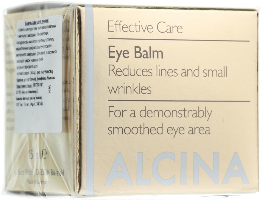 Anti-Falten Augenbalsam - Alcina E Eye Balm — Bild N1