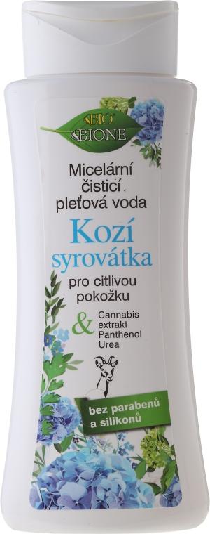 Mizellen-Reinigungswasser mit Ziegenmilch - Bione Cosmetics Goat Milk Micellar Cleansing Water