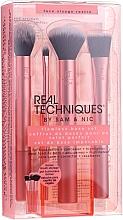 Düfte, Parfümerie und Kosmetik Make-up Pinselset 5-tlg. - Real Techniques Flawless Base Set