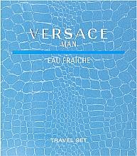 Düfte, Parfümerie und Kosmetik Versace Man Eau Fraiche - Set (Eau de Toilette 100ml + Duschgel 100ml)