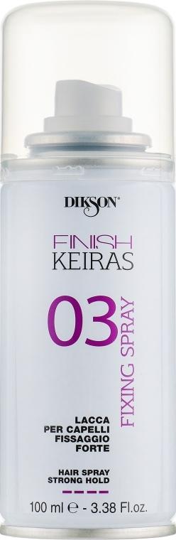 Haarspray Starker Halt - Dikson Finish Area Keiras Hair Spray Strong Hold 03 — Bild N1