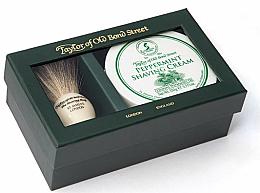 Düfte, Parfümerie und Kosmetik Rasierset - Taylor of Old Bond Street Peppermint (Rasierpinsel + Rasiercreme 150g)