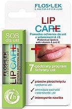 Düfte, Parfümerie und Kosmetik Schützendes Lippenbalsam mit Vitamin A und E - Floslek Lip Care Protective Lipstick With Vitamins A and E