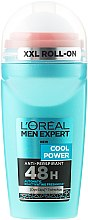 Düfte, Parfümerie und Kosmetik Deo Roll-on Antitranspirant - L'Oreal Paris Men Expert Cool Power Deodorant Roll-on