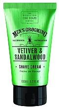 Düfte, Parfümerie und Kosmetik Rasiercreme Vetiver & Sandelholz - Scottish Fine Soaps Vetiver & Sandalwood Shave Cream