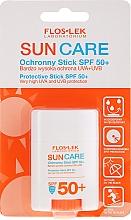 Düfte, Parfümerie und Kosmetik Sonnenschutzstick SPF50+ - Floslek Sun Care Protective Stick SPF50+