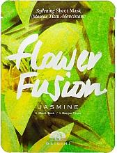 Düfte, Parfümerie und Kosmetik Aufweichende Tuchmaske für das Gesicht mit Jasmin - Origins Flower Fusion Jasmine Softening Sheet Mask
