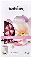 Düfte, Parfümerie und Kosmetik Tart-Duftwachs Magnolia - Bolsius True Scents Magnolia