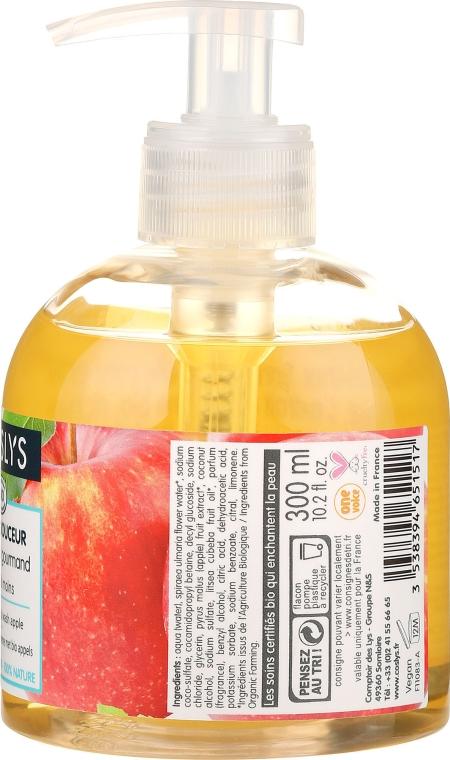 Sanfte Handwaschcreme mit Bio Apfel - Coslys Hand & Nail Care Hand Wash Cream With Organic Apple — Bild N2