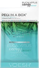 Düfte, Parfümerie und Kosmetik 4 stufiges Pediküre-Set Eucalyptus - Voesh Pedi In A Box Deluxe 4 Step Pedicure Eucalyptus Energy Boost + Eucalyptus Essential Oil