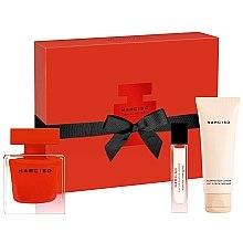 Düfte, Parfümerie und Kosmetik Narciso Rodriguez Narciso Rouge - Duftset (Eau de Parfum 90ml + Körperlotion 75ml + Eau de Parfum 10ml)