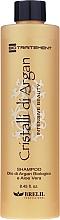 Feuchtigkeitsspendendes Shampoo mit Arganöl und Aloe Vera - Brelil Bio Traitement Cristalli d'Argan Shampoo Intensive Beauty — Bild N3
