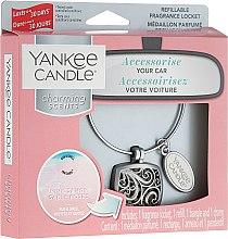Düfte, Parfümerie und Kosmetik Auto-Lufterfrischer Pink Sands - Yankee Candle Charming Scents Square Refillable Locket CPink Sands