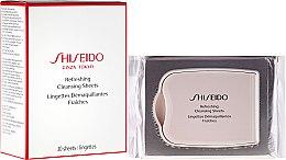 Düfte, Parfümerie und Kosmetik Erfrischende Reinigungstücher - Shiseido Refreshing Cleansing Sheets