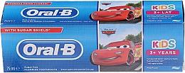 Düfte, Parfümerie und Kosmetik Kinderzahnpasta 3+ Jahre Cars - Oral-B Kids Cars Toothpaste