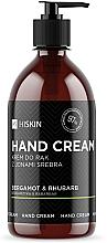 Düfte, Parfümerie und Kosmetik Handcreme mit Silberionen, Bergamotte und Rhabarber - HiSkin Bergamot & Rhubarb Hand Cream