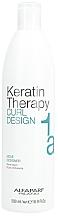 Düfte, Parfümerie und Kosmetik Glättendes Fluid für lockiges und welliges Haar - Alfaparf Keratin Therapy Curl Design Permanent Curling Fluid