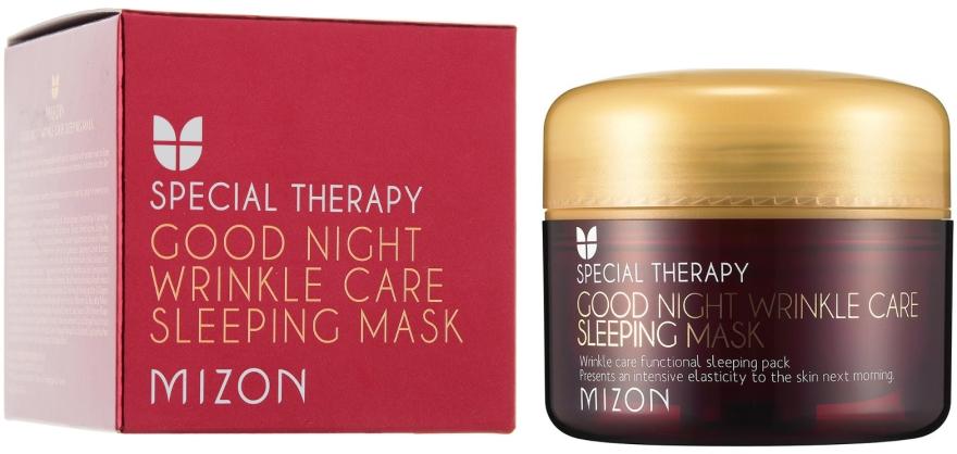 Anti-Falten Gesichtsmaske mit Retinol - Mizon Good Night Wrinkle Care Sleeping Mask