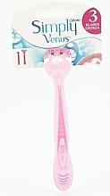Düfte, Parfümerie und Kosmetik Einwegrasierer für Damen rosa - Gillette Simply Venus 3