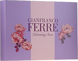 Düfte, Parfümerie und Kosmetik Gianfranco Ferre Blooming Rose - Duftset (Eau de Toilette 50ml + Körperlotion 100ml)