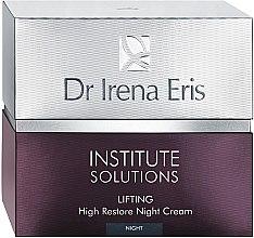 Düfte, Parfümerie und Kosmetik Anti-Falten Nachtcreme für das Gesicht mit Lifting-Effekt - Dr Irena Eris Institute Solutions Lifting High Restone Night Cream