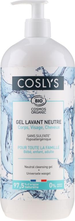 Hypoallergenes universeles Waschgel für Neugeborene, Kinder und Erwachsene - Coslys Universal Cleansing Gel