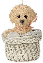 Düfte, Parfümerie und Kosmetik Duftkerze 11x17 cm Hund beige - Artman Dog