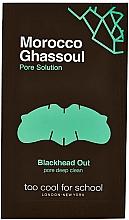 Düfte, Parfümerie und Kosmetik Porenreinigende Nasenstreifen mit marokkanischer Rhassoul-Tonerde - Too Cool For School Morocco Ghassoul Blackhead Out
