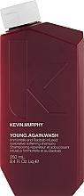 Düfte, Parfümerie und Kosmetik Stärkendes Shampoo für trockenes, strapaziertes und brüchiges Haar - Kevin.Murphy Young Again Wash Shampoo