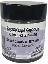 Düfte, Parfümerie und Kosmetik Natürliche Deo-Creme mit Lavendel- und Zitronengrasduft - Brooklyn Groove Deodorant Cream