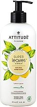 Düfte, Parfümerie und Kosmetik Flüssige Handseife mit Zitronenblättern - Attitude Super Leaves Natural Lemon Leaves Hand Soap