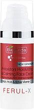 Düfte, Parfümerie und Kosmetik Antioxidative, feuchtigkeitsspendende und beruhigende Gesichtscreme - Bielenda Professional Ferul-X Antioxidant Moisturizing & Calming Face Cream