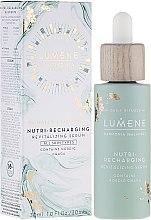 Düfte, Parfümerie und Kosmetik Revitalisierendes und nährendes Gesichtsserum mit Chaga-Extrakt - Lumene Harmonia Nutri-Recharging Revitalizing Serum