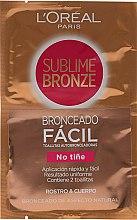Düfte, Parfümerie und Kosmetik Selbstbräunungstücher für Gesicht und Körper - L'oreal Sublime Self-Tan Face And Body Wipes