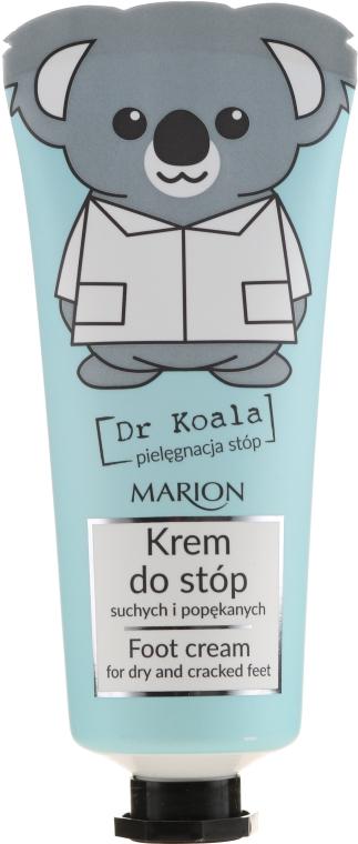 Fußcreme für trockene und rissige Fersen - Marion Dr Koala Foot Cream