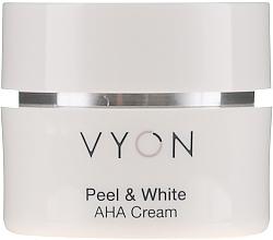 Düfte, Parfümerie und Kosmetik Leichte feuchtigkeitsspendende Gesichtscreme mit Fruchtsäuren - Vyon Peel and White AHA Cream